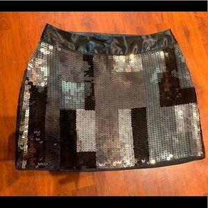 Express NWT sparkle disco skirt mini